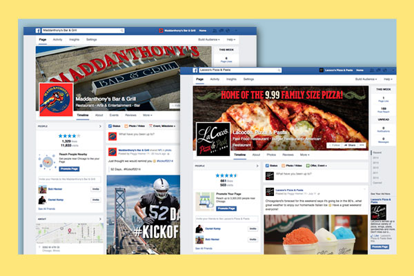 Social Media Campaign Monitor for local Pizza Company